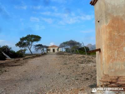 Calblanque y Calnegre - Cabo Tiñoso; viajes culturales españa; viajes con actividades;excursion ce